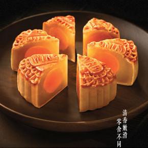 元朗荣华 双黄白莲蓉月饼礼盒 740g 158元包邮