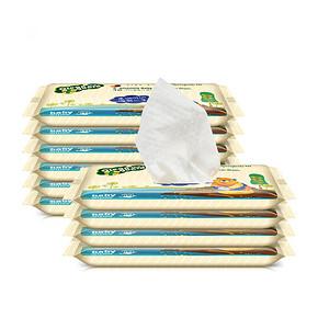 子初 洋甘菊婴儿湿巾 10片*10包 15.9元
