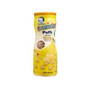 Gerber 嘉宝 星星泡芙 香蕉口味 42g 11.7元(9.9+1.8)