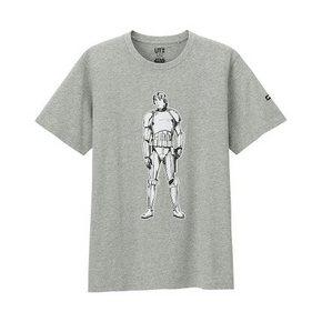UNIQLO 优衣库 男款Star Wars 印花T恤 79元