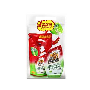 威王 植物厨房清洁剂 500g+420g 9.9元