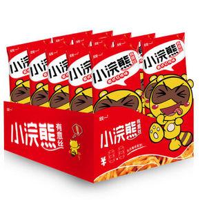 童年回忆# 统一 小浣熊 有意丝 意式红烩味 30g*10包 折12.5元(25,买1送1)
