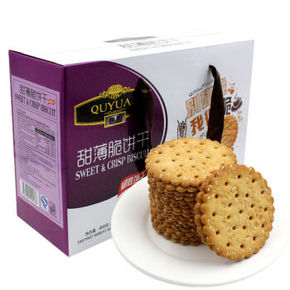 趣园 甜薄脆饼干芝麻味 800g 折8.4元(16.8,3件5折)