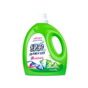 绿伞 洗衣液 玉兰幽香4kg 29.8元