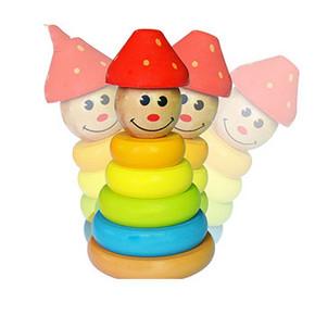 网童奇贝 儿童七彩叠叠乐玩具 7.9元包邮