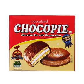 马来西亚进口 乐一百 巧克力派 300g 9.9元