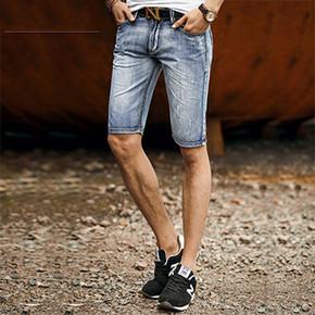 no1dara2016 男士夏季磨白牛仔短裤  29元包邮