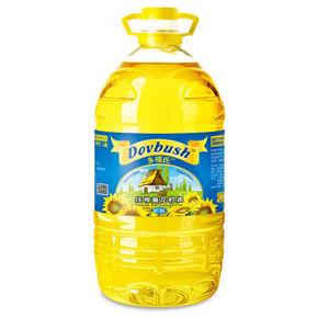 限地区# 乌克兰 Dovbush 多福氏 压榨葵花籽油 3L*2件 69元(2件5折)