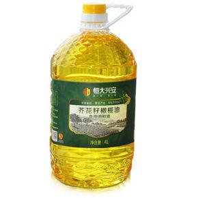限地区# 恒大兴安 芥花籽橄榄油 4L 49.9元