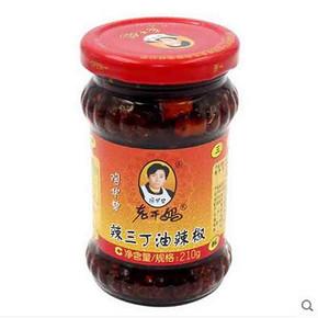 陶华碧 老干妈辣三丁油辣椒210g 折5.9元(17.7-3)