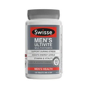 Swisse 男士复合维生素抗氧化草本精华片 60片 144元(169-15券)