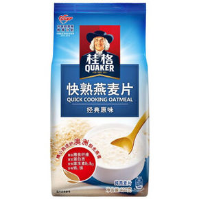 桂格 快煮燕麦片 400g 6.6元