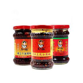 国民老妈# 老干妈 超辣辣椒酱组合 210g*3瓶 18.9元包邮