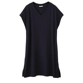 GU 极优  V领短袖长衫女装  39元