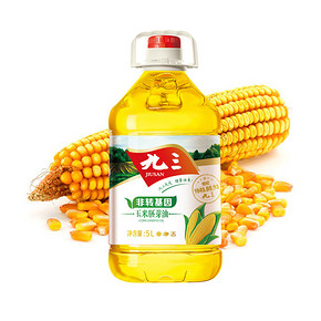 九三 非转基因 压榨玉米胚芽油 5L  49.9元