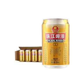 珠江 啤酒 精品小麦啤酒 10°P 330ml*24听 39.9元