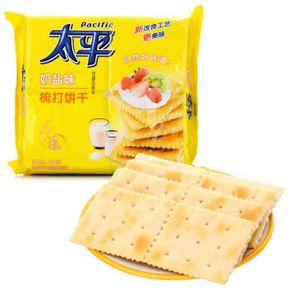 太平 梳打饼干 奶盐味 400g 折7.9元(9.9,3件8折)