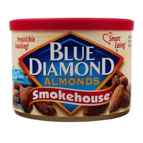 Blue Diamond 蓝钻石 烟熏风味扁桃仁 170g 折12.4元(24.9,188-108)