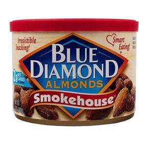 Blue Diamond 蓝钻石 烟熏风味扁桃仁 170g 折11.4元(24.9,188-108)
