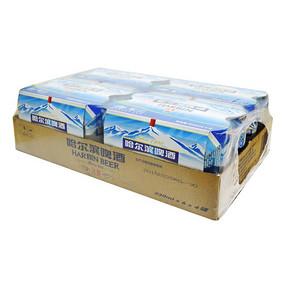 哈尔滨啤酒 冰爽拉罐3 30ml*24/听 36.9元