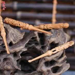 黑檀木雕刻耳勺 8.8元包邮