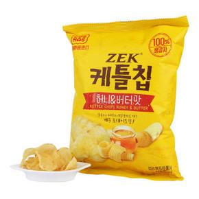ZEK 蜂蜜黄油马铃薯片 60g*2袋 19.9元(买1送1)
