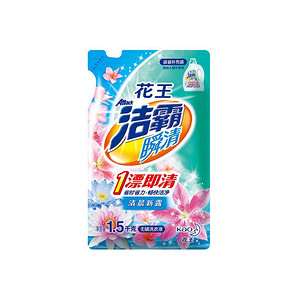 ATTACK 洁霸 瞬清清晨新露香无磷洗衣液 1.5kg 折13.4元(25.9*4-50)
