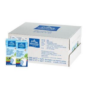 德国进口 欧德堡 超高温处理全脂纯牛奶 200ml*24盒46.8元