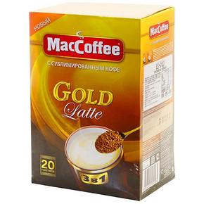马来西亚 美卡菲 MacCoffee) 拿铁3合1速溶咖啡 320g 13.9元
