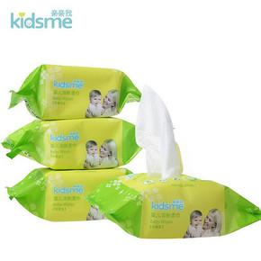 kidsme 亲亲我 婴儿除菌湿巾 25片*4包 折4.5元(买3免1)