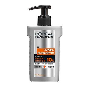 欧莱雅 男士劲能舒润液体洁面皂 150ml 24.5元