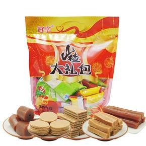 冠享 山楂零食大礼包500g 8.8元包邮
