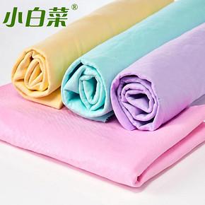 小白菜 麂皮巾吸水毛巾 5.7元包邮