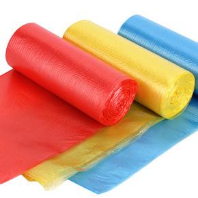 彩色装厨房专用 垃圾袋 3卷装 3.2元包邮