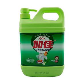 限地区# 加佳 高效柠檬洗洁精 1.18kg 5.9元