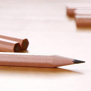 得力 原木桶装铅笔 30支装 8.8元包邮