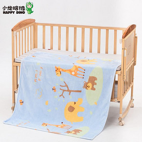 HAPPY DINO 小龙哈彼 婴儿毛毯 29.9元包邮