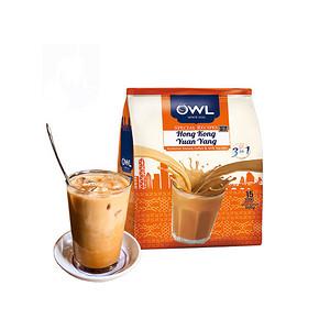 限地区# OWL 猫头鹰 港式鸳鸯奶茶 450g 24.9元