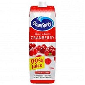 优鲜沛 原味蔓越莓复合果汁 1L 折7.4元(12.9,199-100+税)