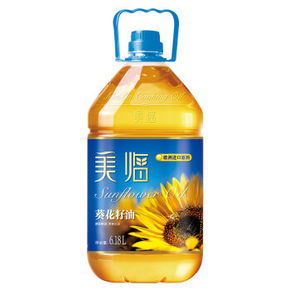 美临 葵花籽油6.18L  59.9元包邮