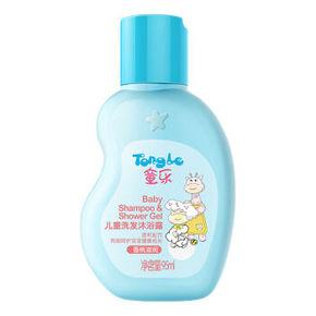 童乐 洗发沐浴二和一香桃滋润 95ml 1.5元