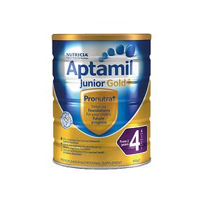 Aptamil 爱他美幼儿奶粉 4段 900g 折110.6元(99,3罐起售)