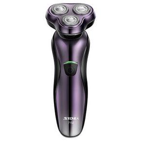 SID 超人 SA7152 三头浮动可冲洗电动剃须刀 亮紫色 49元
