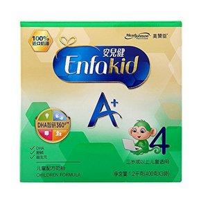 美赞臣 安儿健A+ 儿童奶粉 4段 400g*3袋 123.9元包邮