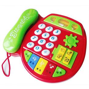 儿童启蒙音乐电话玩具 8.6元包邮