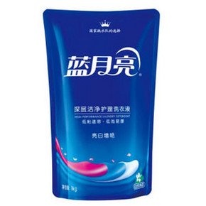 蓝月亮 亮白增艳洗衣液 自然清香 1kg 折8.6元(16.9,199-100)