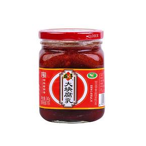 清粥小菜# 咸亨 大块腐乳 340g 折4.9元(4件5折)