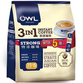 越南进口 OWL 猫头鹰 3合1特浓咖啡 800g 29.9元