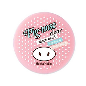 holika 猪鼻黑头清洁磨砂膏 粉色 30ml 57元包邮(69-12券)