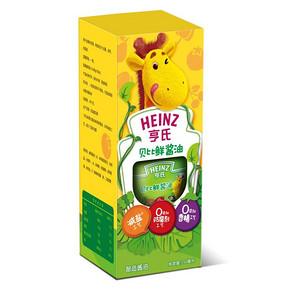 Heinz 亨氏 贝比鲜酱油 150ml 12.9元